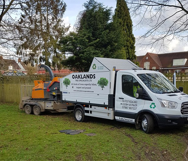 Garden landscaping services in St Albans
